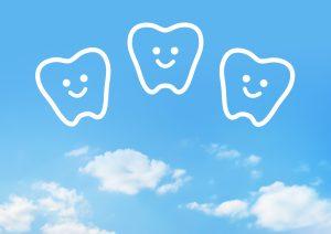 青空と歯のキャラクター